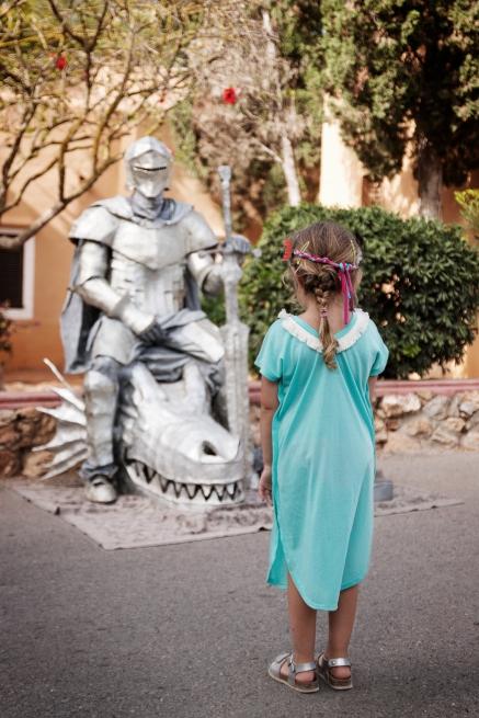 Sant Jordi y La Princesa Hippy